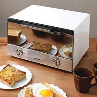 アイリスオーヤマ(アイリスオーヤマ)のアイリスオーヤマ ミラーオーブントースター トースト4枚(調理機器)