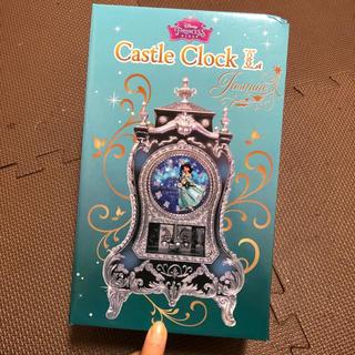 ディズニー(Disney)のディズニー 置時計 アラジン ジャスミン Disney プリンセス (置時計)