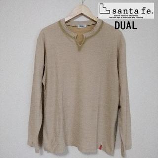 サンタフェ(Santafe)のSantafe DUAL  カットソー 長袖Tシャツ  (Tシャツ/カットソー(七分/長袖))