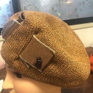 オーバーライド(override)のアースベレー帽新品タグ付き(ハンチング/ベレー帽)