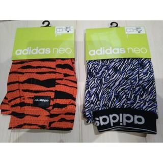 アディダス(adidas)のタグ付 新品 adidas アディダス トランクス×2枚 M 綿100% 朱色青(トランクス)