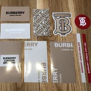 バーバリー(BURBERRY)のBURBERRY 19ss ノベルティ ステッカー(ノベルティグッズ)