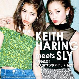 スライ(SLY)のKeith Haring × SLY 限定コラボ(Tシャツ(半袖/袖なし))