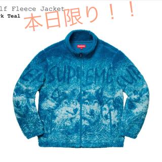 シュプリーム(Supreme)の本日限り!!Supreme Wolf Fleece Jacket Msize(その他)