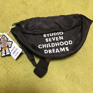 ジーユー(GU)のGU studio seven ウエストポーチ 黒(ウエストポーチ)