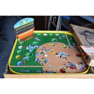 昭和レトロ 野球盤 エポック社 E-1型(野球/サッカーゲーム)