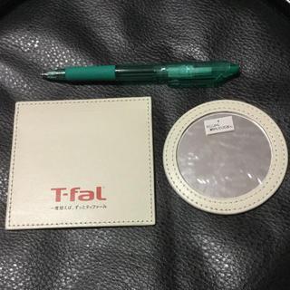 ティファール(T-fal)のティファール/T-faL/手鏡ケース付き/未使用(ミラー)