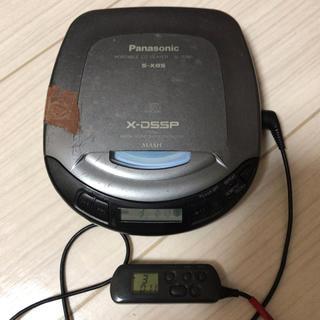 パナソニック(Panasonic)の【ジャンク】パナソニックCDプレーヤー SL-S280(ポータブルプレーヤー)