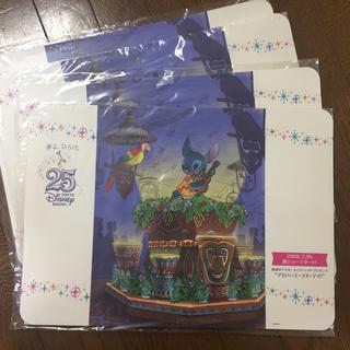 ディズニー(Disney)のディズニーリゾート 非売品 ランチョンマット 25周年限定 スティッチ 4枚(テーブル用品)