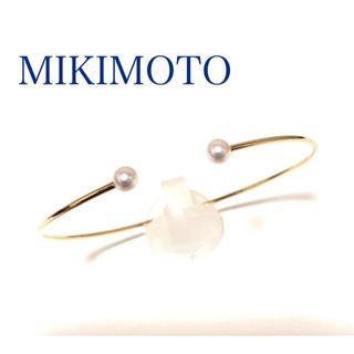 ミキモト(MIKIMOTO)のMIKIMOTO ミキモト 上品♡ k18YG アコヤパール 真珠 ブレスレット(ブレスレット/バングル)