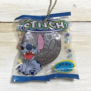 スティッチ(STITCH)のスティッチ クリームサンドクッキー型 フィギュア マスコット 新品 食品サンプル(キャラクターグッズ)