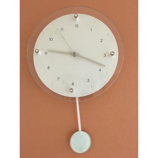フランフラン(Francfranc)のFrancfranc 掛け時計 電波時計 ジャンク品(掛時計/柱時計)