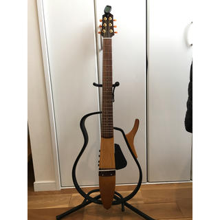 ヤマハ(ヤマハ)のYamaha サイレントギターSLG110S(アコースティックギター)