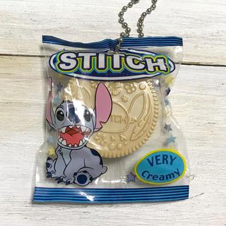 スティッチ(STITCH)のスティッチ クリームサンドクッキー型 フィギュア マスコット  食品サンプル(キャラクターグッズ)