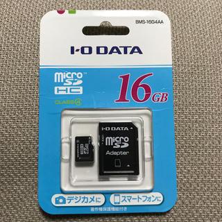 アイオーデータ(IODATA)のmicroSD  16GB(その他)