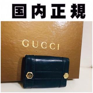 054eda518d05 グッチ(Gucci)の本革 35680円 正規本物 グッチ GUCCI キーケース メンズ