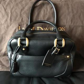 ジェイアンドエムデヴィッドソン(J&M DAVIDSON)のJ&M DAVIDON MINI MIA ミニミア 黒 ブラック(ハンドバッグ)