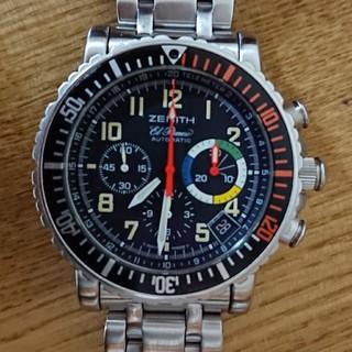 ゼニス(ZENITH)のゼニス レインボーフライバック エルプリメロ(腕時計(アナログ))