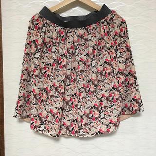花柄スカート Mサイズ(ミニスカート)