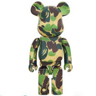 A BATHING APE - BAPE BE@RBRICK ABC CAMO 1000% GREEN