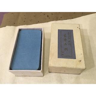 ■角丸 藍染名刺 89枚入り(スケッチブック/用紙)