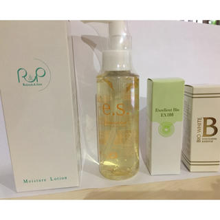 エビスケショウヒン(EBiS(エビス化粧品))の ツインエレナイザーPRO2お手入れセットビーホワイト エクセレント ローション(フェイスケア/美顔器)