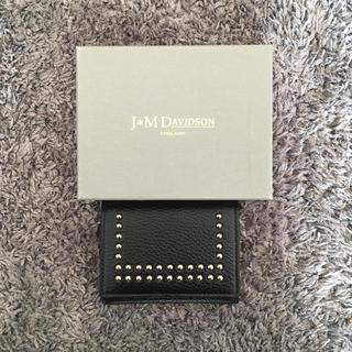 ジェイアンドエムデヴィッドソン(J&M DAVIDSON)のJ&M DAVIDSON ミニウォレット(財布)