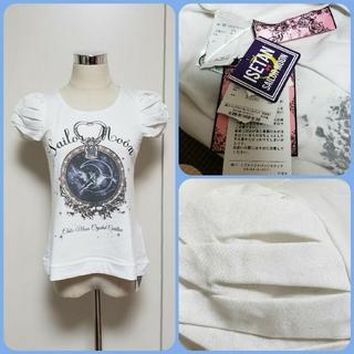 紙タグ付❤️ハニーバンチ❤️セーラームーンコラボ❤️異素材Tシャツ