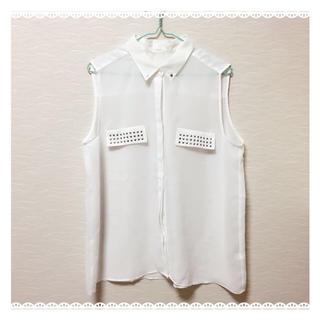 ジーユー(GU)のg.u. トップス(シャツ/ブラウス(半袖/袖なし))