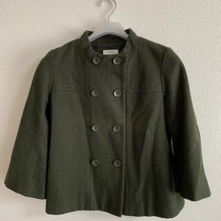 ニーム(NIMES)のNîmes ジャケット 緑 春コート(スプリングコート)