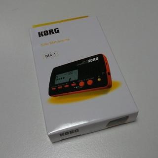 コルグ(KORG)の新品未開封 KORG MA-1 Solo Metronome 色ブラック&レッド(その他)
