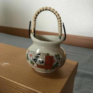 クタニセイヨウ(九谷青窯)の新品 未使用 九谷焼 爪楊枝入れ(収納/キッチン雑貨)