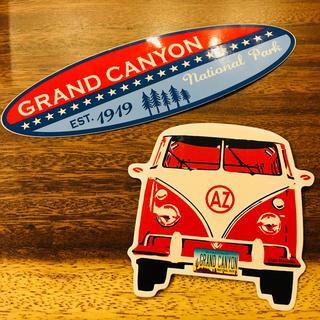 グランドキャニオン(GRAND CANYON)のグランドキャニオン ステッカー 2枚セット(ステッカー)