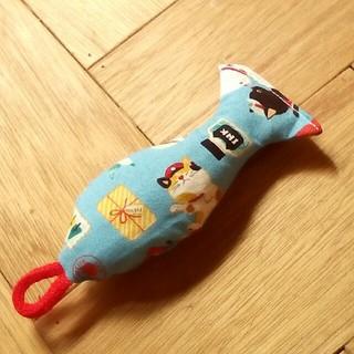 猫ちゃんグッズ☆けりけり♪キャットキッカー♪キャットニップ入り♪お魚(おもちゃ/ペット小物)