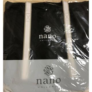 ナノユニバース(nano・universe)の【新品未開封】ナノユニバース トートバッグ 非売品(トートバッグ)