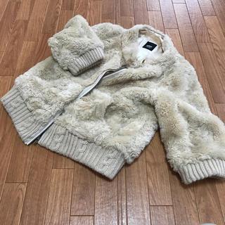 サブロク(SABUROKU)の可愛いモコモコジャケット(毛皮/ファーコート)
