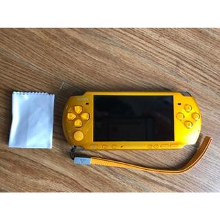 ソニー(SONY)のPSP3000 オレンジ(4GBメモリースティック付き)(携帯用ゲーム本体)