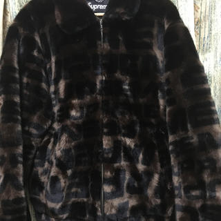 シュプリーム(Supreme)のシュプリーム faux fur bomber jacket(その他)
