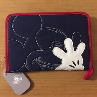 ディズニー(Disney)の新品 ディズニーストア 母子手帳ケース マルチケース ミッキー ジャバラ(母子手帳ケース)