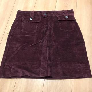 パタゴニア(patagonia)のPatagonia コーデュロイスカート size 2(ひざ丈スカート)