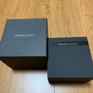 ハミルトン(Hamilton)のハミルトン 箱 ケース のみ(腕時計(アナログ))
