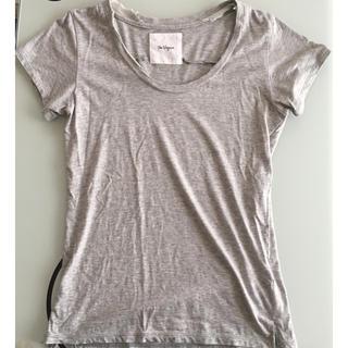 ザヴァージニア(The Virgnia)の美品✨The VirgniaグレーUネックTシャツ♡(Tシャツ(半袖/袖なし))