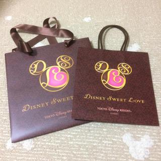 ディズニー(Disney)のディズニー   バレンタイン  紙袋(ショップ袋)