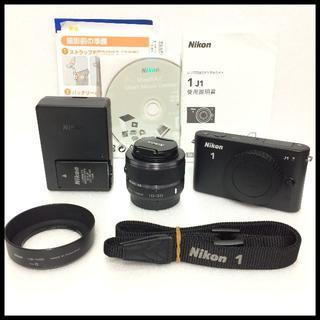 ニコン(Nikon)のNikon 1 J1 ブラック 標準レンズセット(ミラーレス一眼)