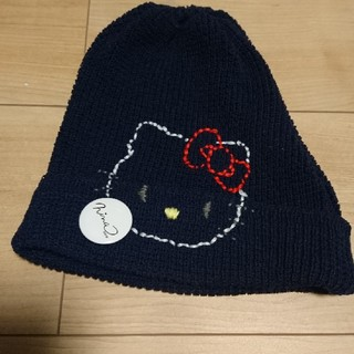 ニーナミュウ(Nina mew)のニーナミュウ サマーニット帽 サンリオ キティーコラボ 限定(ニット帽/ビーニー)