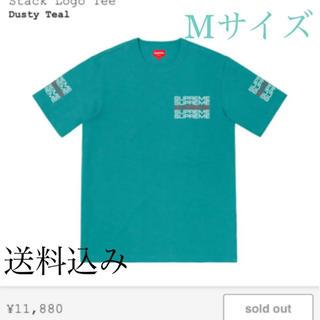 シュプリーム(Supreme)のSupreme / シュプリーム stack logo tee Mサイズ(Tシャツ/カットソー(半袖/袖なし))