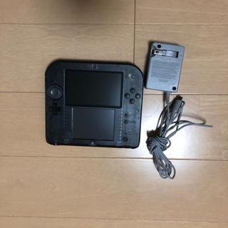 ニンテンドー2DS(ニンテンドー2DS)の任天堂2DS clear black(携帯用ゲーム本体)