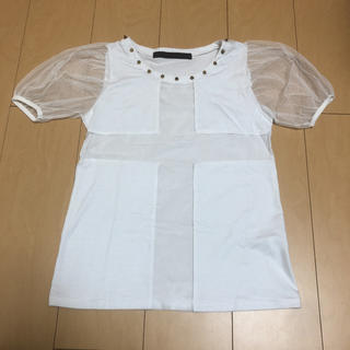 グラッドニュース(GLAD NEWS)のGLAD NEWS♡メッシュクロスシャツ(Tシャツ(半袖/袖なし))