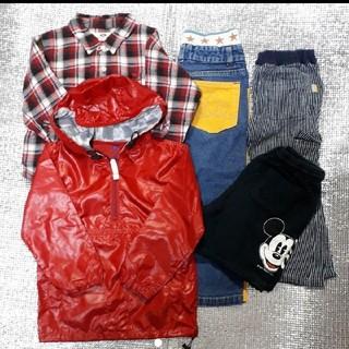 ドッグデプト(DOG DEPT)の値下げ Dog Dept Kid's シャツ 他 子供服 100(5点)(Tシャツ/カットソー)