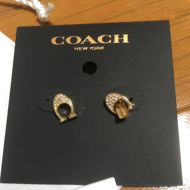 075f16c04569 COACH - COACH ピアス F29824 ゴールドの通販 by tanikao's shop|コーチ ...